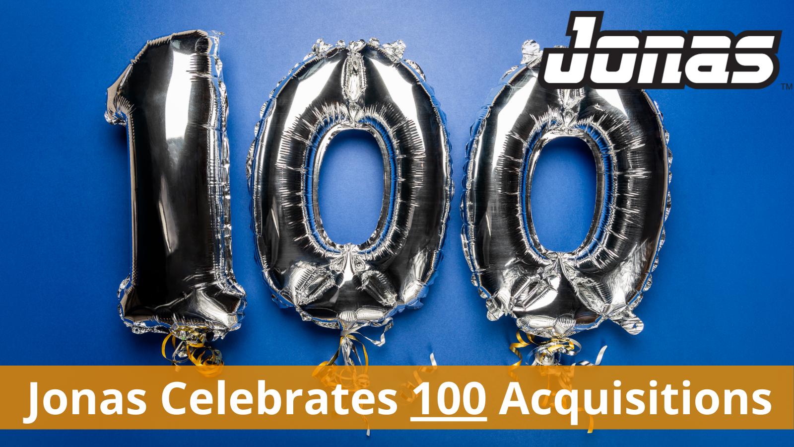 M&A 100th Acquisition
